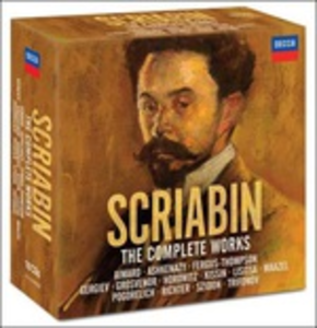 CD The Complete Works di Alexander Nikolayevich Scriabin