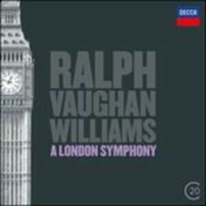 CD London Symphony - Tallis Fantasia di Ralph Vaughan Williams