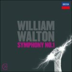 CD Sinfonia n.1 - Concerto per violoncello di William Walton