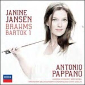 CD Concerti per violino di Johannes Brahms