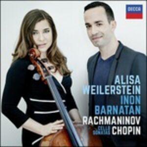 CD Sonate per pianoforte e violoncello Fryderyk Franciszek Chopin , Sergei Vasilevich Rachmaninov