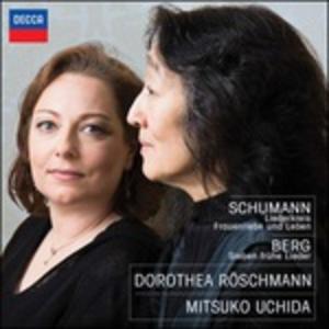 CD Liederkreis - Frauenliebe und Leben - Sieben Frühe Lieder Alban Berg , Robert Schumann