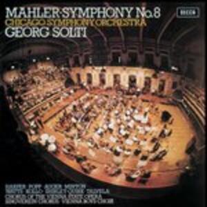 Sinfonia n.8 - Vinile LP di Gustav Mahler,Georg Solti,Chicago Symphony Orchestra