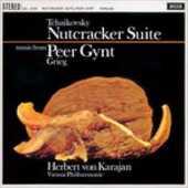 Vinile Lo schiaccianoci (Suite) - Peer Gynt Edvard Grieg Pyotr Il'yich Tchaikovsky Herbert Von Karajan