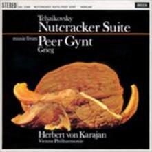 Lo schiaccianoci (Suite) - Peer Gynt (Selezione) - Vinile LP di Edvard Grieg,Pyotr Ilyich Tchaikovsky,Herbert Von Karajan,Wiener Philharmoniker