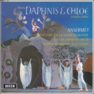 Daphnis et Chloé - Vinile LP di Maurice Ravel,Ernest Ansermet,Orchestre de la Suisse Romande