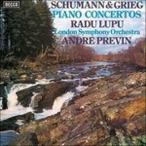 Concerto per pianoforte - Vinile LP di Edvard Grieg,Robert Schumann,André Previn,Radu Lupu,London Symphony Orchestra
