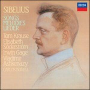 CD Complete Songs di Jean Sibelius