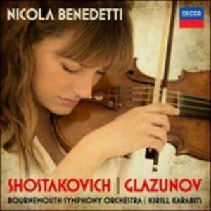 CD Concerti per violino Dmitri Shostakovich , Alexander Kostantinovich Glazunov