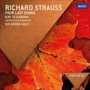 CD Vier Letzte Lieder / Kindertotenlieder - Lieder Eines Fahrenden Gesellen - Ich Bin der Welt Abhanden Gekommen Gustav Mahler , Richard Strauss