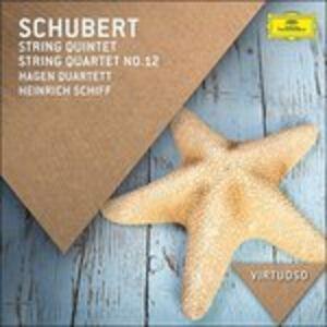 CD Quintetto per archi - Quartetto per archi n.12 di Franz Schubert