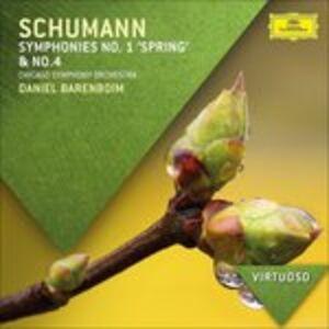 CD Sinfonie n.1, n.4 di Robert Schumann