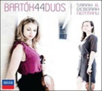CD 44 duetti per 2 violini di Bela Bartok