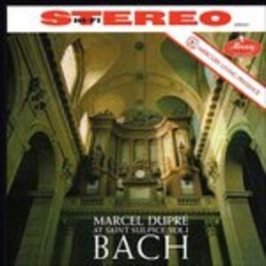 CD Preludi e fughe BWV532, BWV543, BWV548 di Johann Sebastian Bach