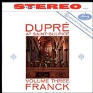 CD Grande pièce symphonique - Fantasia in La - Pastorale op.19 n.4 di César Franck