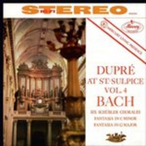 CD 6 Corali Schübler - Fantasie BWV562, BWV572 di Johann Sebastian Bach