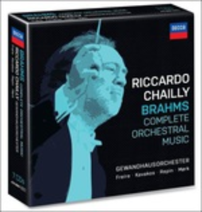 CD Musica orchestrale completa di Johannes Brahms