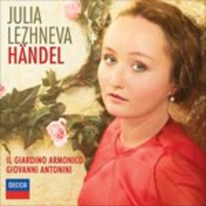 Handel - CD Audio di Georg Friedrich Händel,Julia Lezhneva
