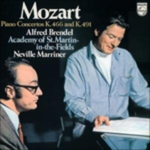 Concerti per pianoforte n.20, n.24 - Vinile LP di Wolfgang Amadeus Mozart,Alfred Brendel,Neville Marriner,Academy of St. Martin in the Fields