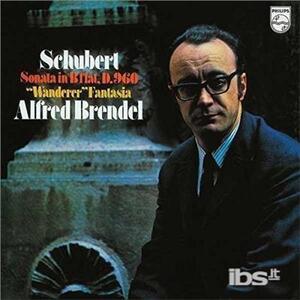 Sonata per pianoforte D960 - Fantasia Wanderer - Vinile LP di Franz Schubert,Alfred Brendel