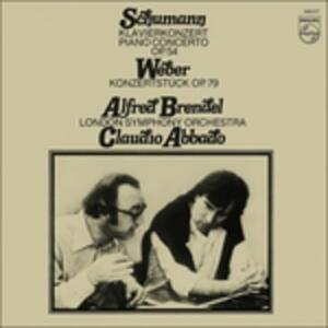 Concerto per pianoforte / Konzertstück - Vinile LP di Robert Schumann,Carl Maria Von Weber,Alfred Brendel,Claudio Abbado,London Symphony Orchestra