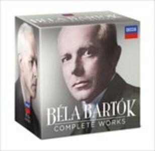 Foto Cover di Musica completa, CD di Bela Bartok, prodotto da Decca