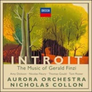 CD Introit di Gerald Finzi