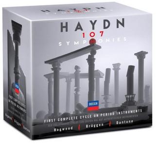 CD Sinfonie complete di Franz Joseph Haydn