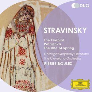 CD La sagra della primavera - L'uccello di fuoco - Petrouchka di Igor Stravinsky