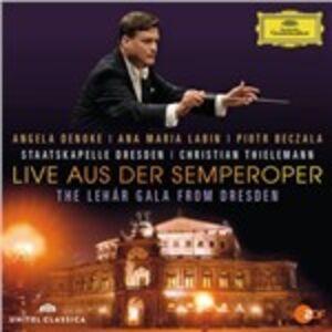CD Live aus der Semperoper. The Lehár Gala from Dresden di Franz Lehàr