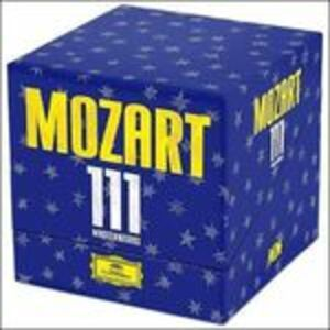 Foto Cover di Mozart 111, CD di Wolfgang Amadeus Mozart, prodotto da Deutsche Grammophon