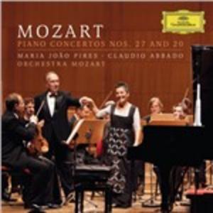 CD Concerti per pianoforte n.20, n.27 di Wolfgang Amadeus Mozart