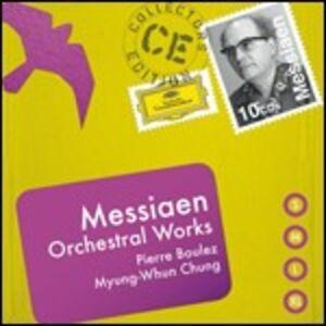 CD Musica orchestrale di Olivier Messiaen