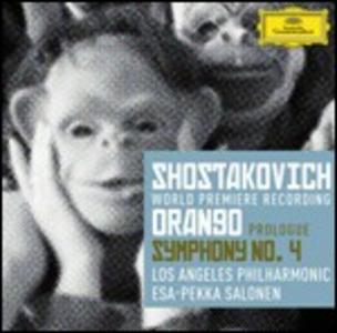 CD Orango - Sinfonia n.4 di Dmitri Shostakovich