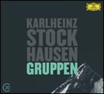 CD Gruppen / Grabstein fur Stephan - Stele Karl-Heinz Stockhausen , György Kurtag