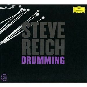 Foto Cover di Drumming - Music for Mallet Instruments - 6 Pianos, CD di Steve Reich, prodotto da Deutsche Grammophon