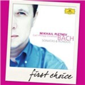 Foto Cover di Sonate - Andante con tenerezza - 3 Rondò, CD di Carl Philipp Emanuel Bach,Mikhail Pletnev, prodotto da Deutsche Grammophon