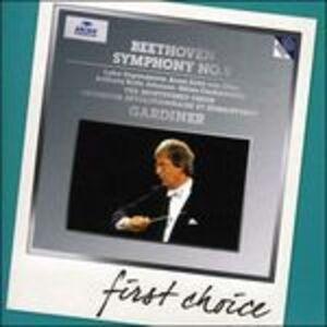 Foto Cover di Sinfonia n.9 - Fantasia corale, CD di AA.VV prodotto da Deutsche Grammophon