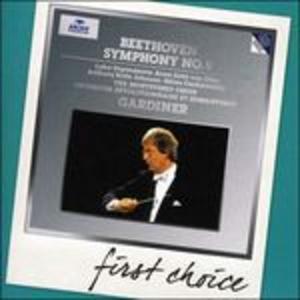 CD Sinfonia n.9 - Fantasia corale di Ludwig van Beethoven