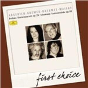 CD Quintetto con pianoforte / Fantasiestücke Johannes Brahms , Robert Schumann