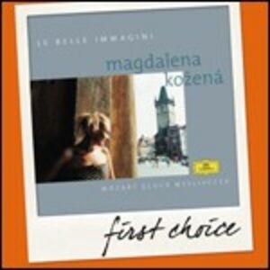 CD Le belle immagini Christoph Willibald Gluck , Wolfgang Amadeus Mozart , Josef Myslivecek