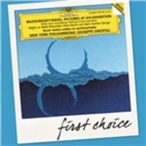CD Quadri di un'esposizione - Una notte sul Monte Calvo / Valses nobles et sentimentals Modest Petrovich Mussorgsky , Maurice Ravel