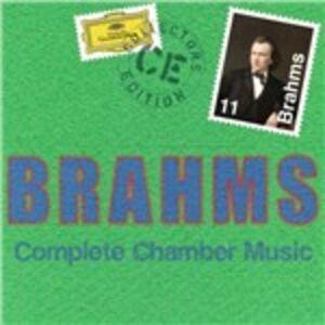 CD Musica da camera completa di Johannes Brahms