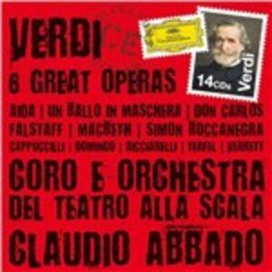 Foto Cover di Aida - Un ballo in maschera - Don Carlos - Macbeth - Falstaff - Simon Boccanegra, CD di AA.VV prodotto da Deutsche Grammophon