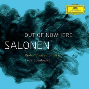 Foto Cover di Out of Nowhere - Concerto per violino - Nyx, CD di AA.VV prodotto da Deutsche Grammophon