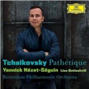 CD Sinfonia n.6 - Romanze per violino di Pyotr Il'yich Tchaikovsky