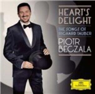 Foto Cover di Heart's Delight. The Songs of Richard Tauber, CD di Piotr Beczala, prodotto da Deutsche Grammophon