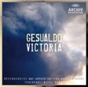 CD Gesualdo Victoria Tomas Luis De Victoria , Carlo Gesualdo