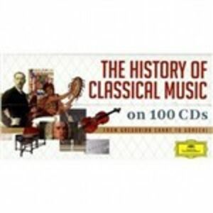CD The History of Classical Music
