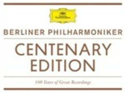 CD Centenary Edition. 100 Years of Great Recordings